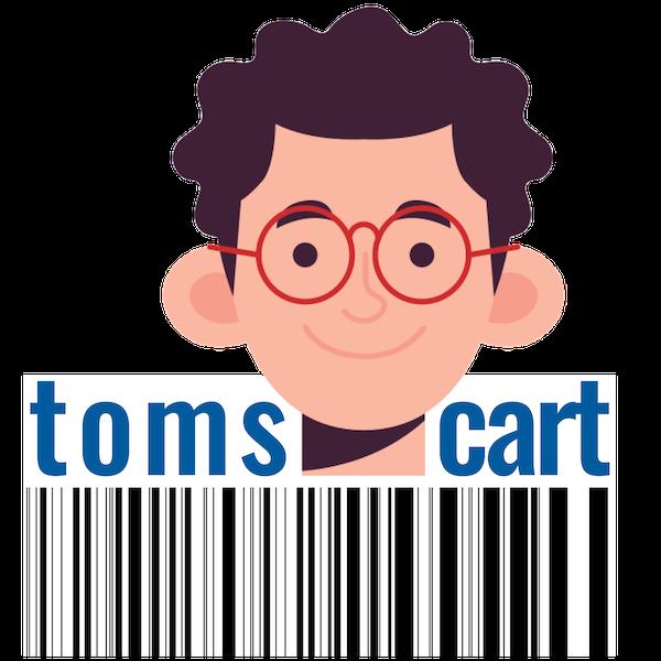 toms-cart.com - zeigt dir, wo die Produkte im Markt stehen